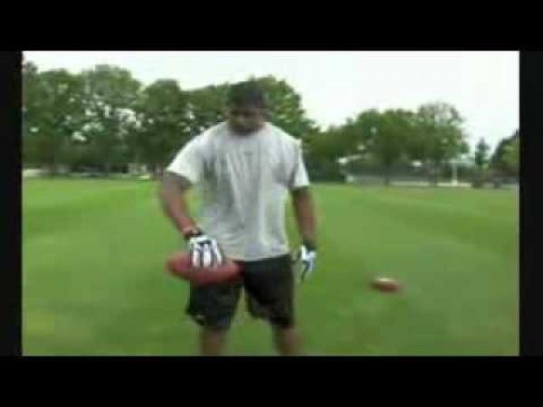 Triky s míčem na americký fotbal