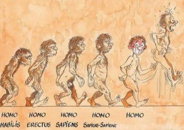 OBRÁZKY - Evoluce z mnoha pohledů