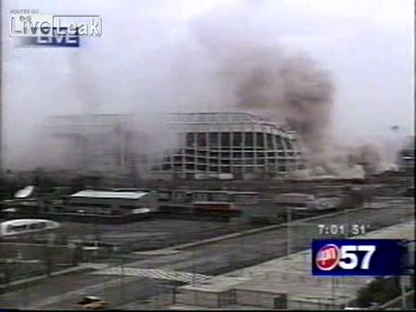 Povedená demolice stadionu