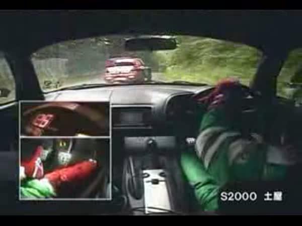 Japonská rally projížďka