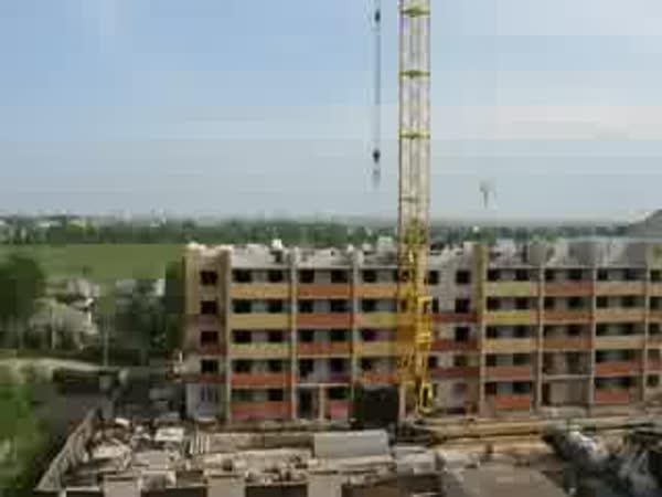 Stavba domu za 16 vteřin