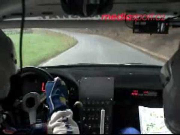 Rally - rozhovor při jízdě [onboard]
