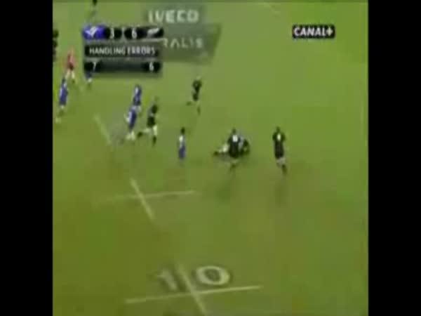 Rugby - tvrdé střety, tvrdý sport