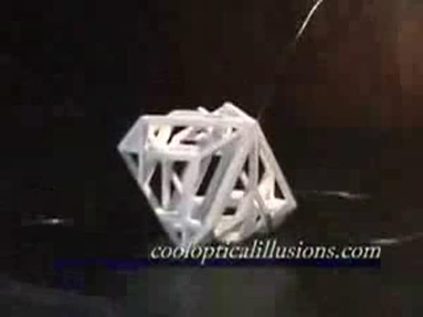 Optická iluze - kostka