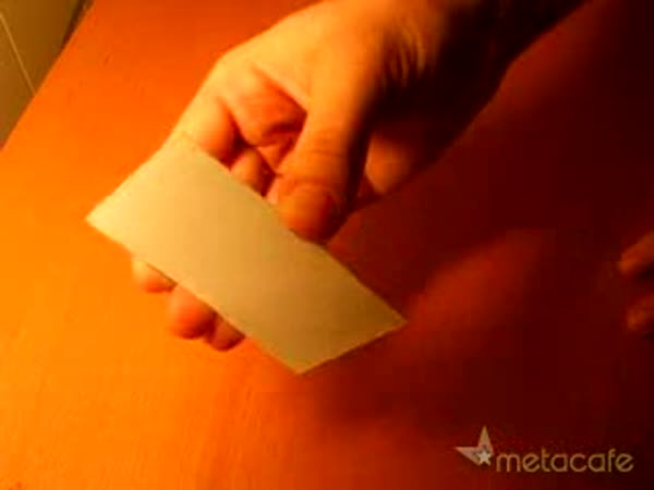 Šikovné ručičky - Trik s vizitkou
