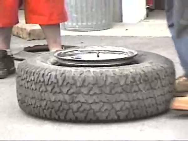 Jak rychle nafouknout pneumatiku