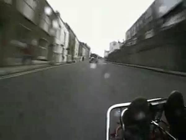 Jízda na motorkáře [onboard kamera]