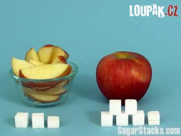 OBRÁZKY - Kolik je cukru v potravinách