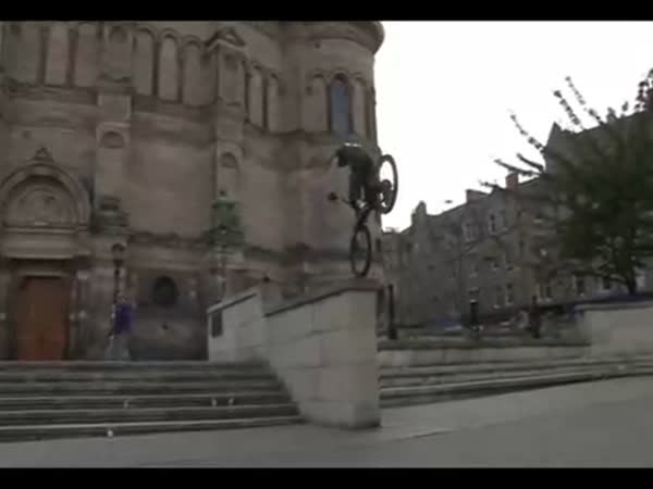 BMX - triky - Danny Macaskill
