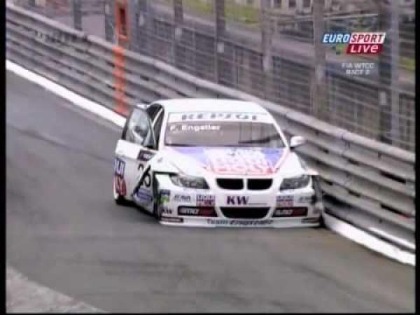 WTCC Pau 2009 - Safety car - nehoda