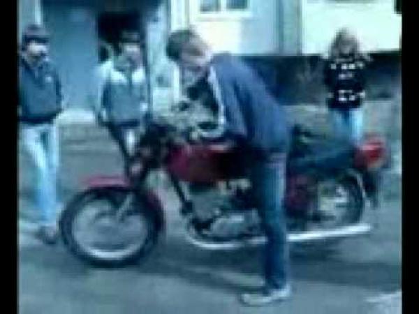 JAWA - česká divoká motorka