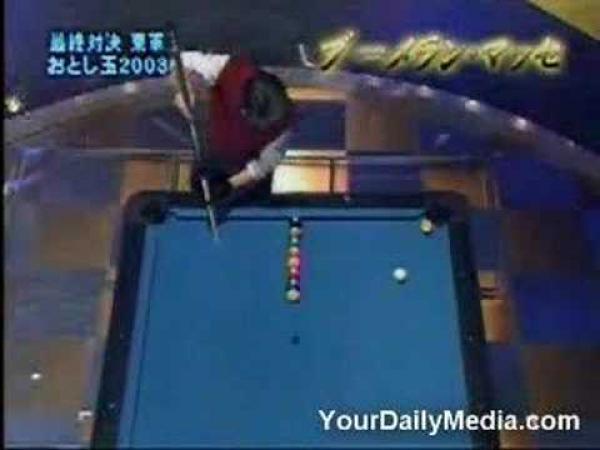Japonsko - kulečníkové triky