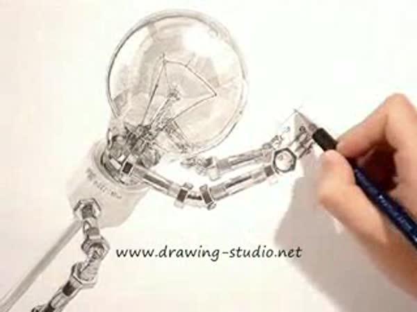 Kresba - 20-ti hodinová práce