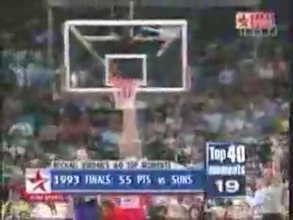 Michael Jordan -  TOP 40 momentů