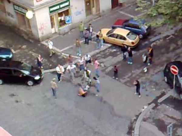 Praha - romové se poprali