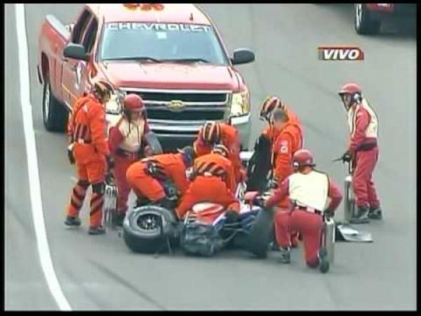 Indy 500 - těžká nehoda