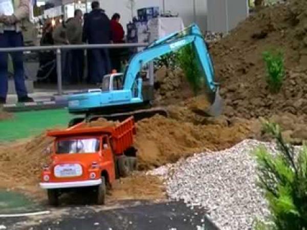 RC modely - stavební stroje