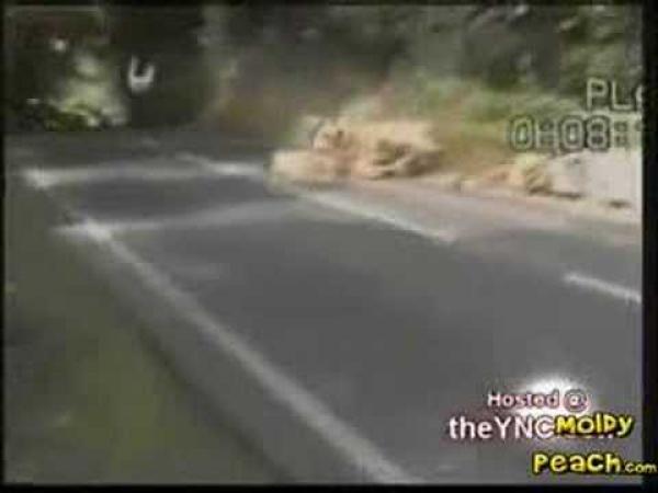 Nehoda na motorce ve 270 km/h