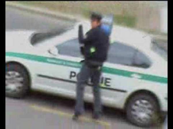 Paintball útok na české policisty