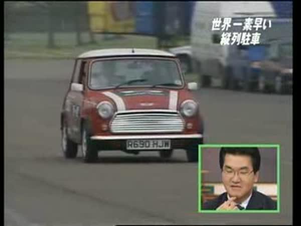 Japonsko - jak se má parkovat