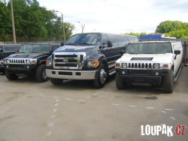 OBRÁZKY - limuzíny
