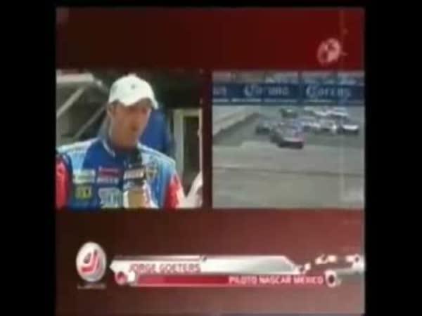 NASCAR - smrtelná nehoda