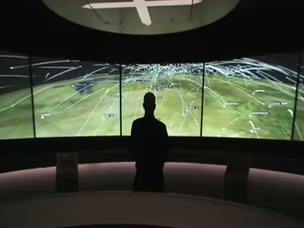 Simulátor leteckého provozu