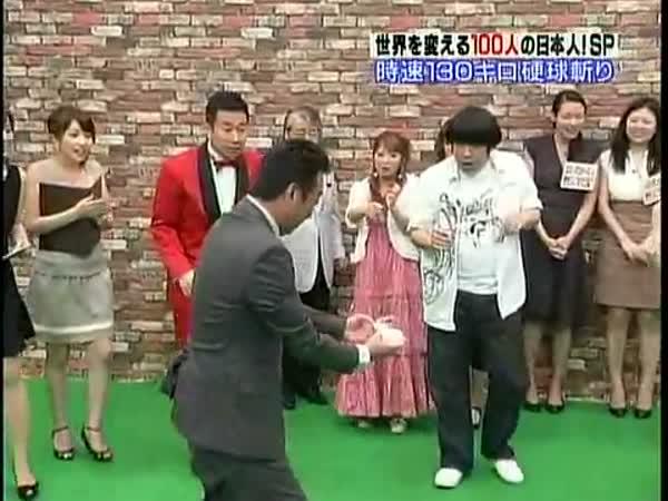 Samuraj a baseball