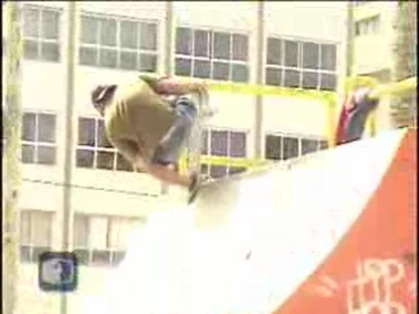 Og de Souza - beznohý skater