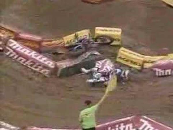 Supercross nehody [kompilace]