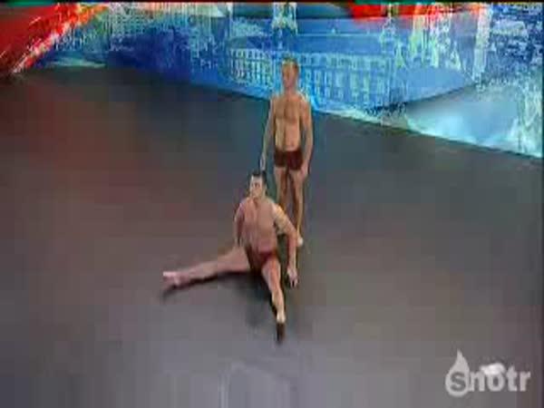 Rusko hledá talent - akrobati
