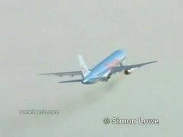 Letadlo vs. ptáci v motoru
