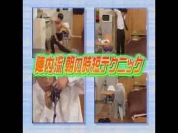 Japonská zábava - Nejrychlejší vstávání