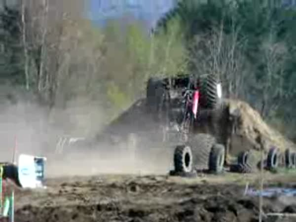 Monster truck - backflip