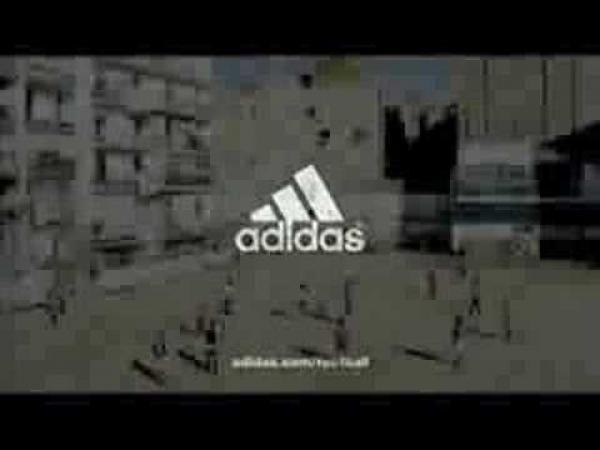 Adidas - fotbalová reklama