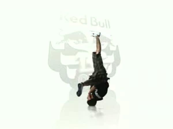 Slow motion - breakdance