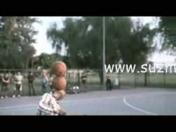 Triky s basketbalovým míčem