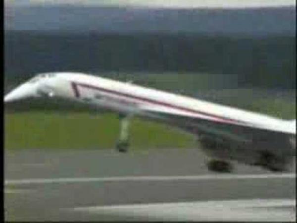 RC Model - letadlo Concord