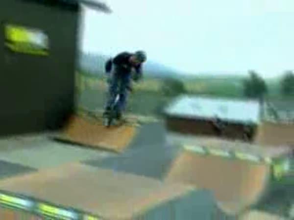 BMX - úžasné triky [kompilace]