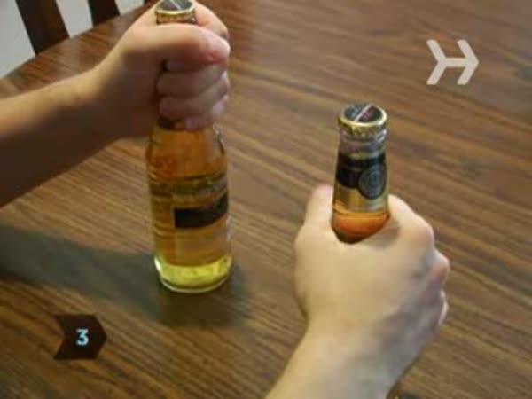 Americký návod - jak otevřít pivo