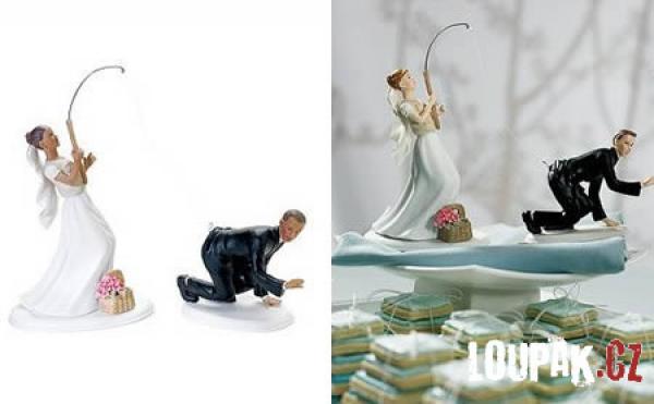 OBRÁZKY - Originální svatební dorty