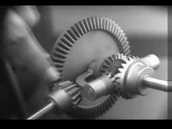 TECHNIKA - Jak funguje diferenciál [animace]