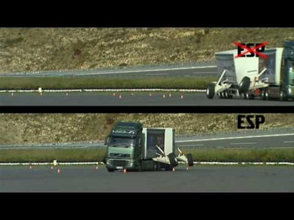 Kamiony - Stabilizační systém ESP