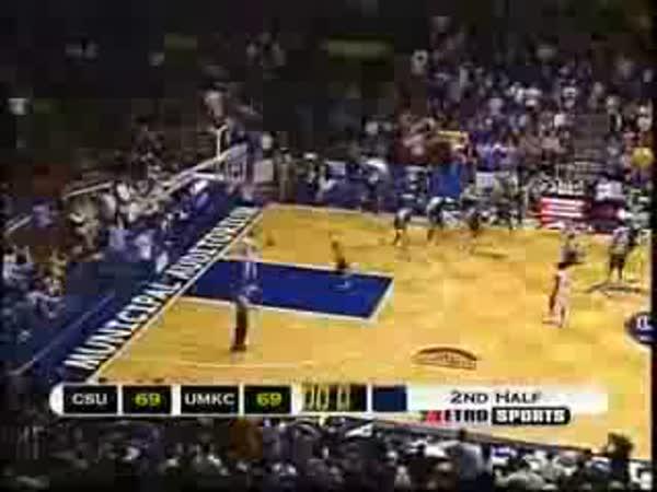Basketbal - napínavý konec zápasu