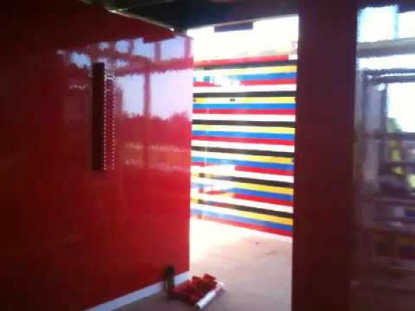 Barák ze stavebnice LEGO