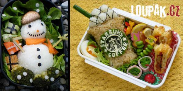 OBRÁZKY - Umění z jídla