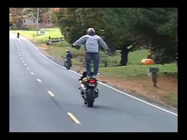 Nepovedené motorkářské kousky