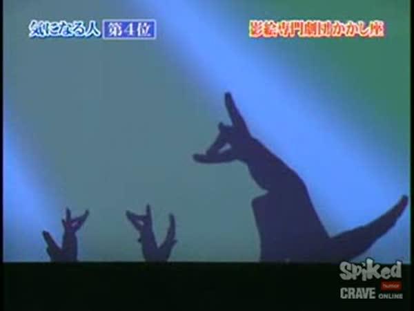 Japonsko - prstová show