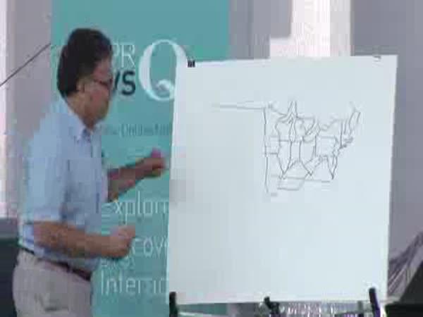 Americký senátor umí nakreslit mapu