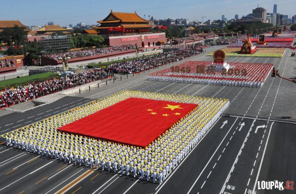 OBRÁZKY - Čína - Oslavy 60. výročí
